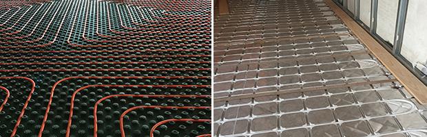 Giacomini fornece piso radiante reabilitacao