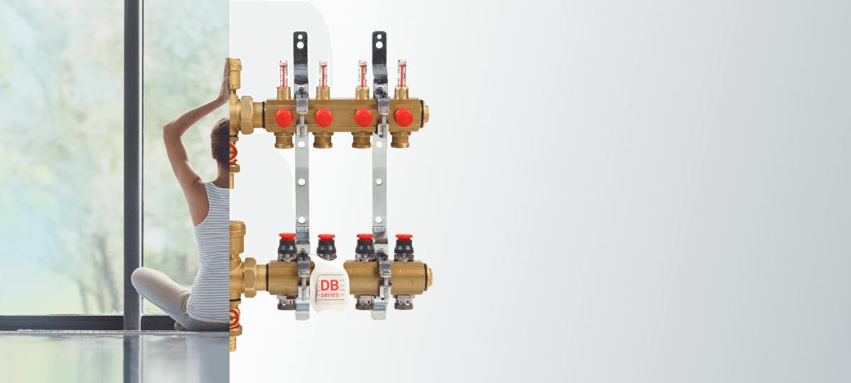 R553FDB coletores equilíbrio dinâmico giacomini